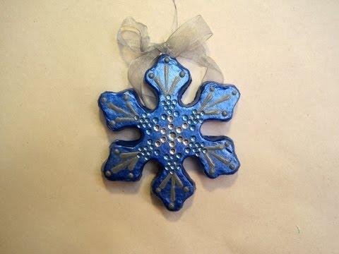 Kids Class Snowflake Ornament ~ Featuring Miriam Joy