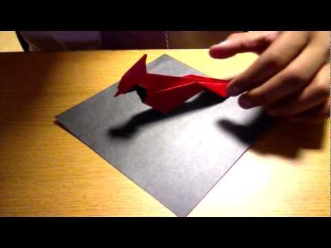 Michael Lafosse's Origami Cardinal Tutorial