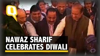 Nawaz Sharif Celebrates Diwali, Gives Message of Brotherhood