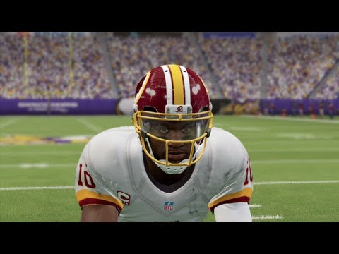 Madden 25 Online Gameplay  EPIC GAME OF THE YEAR Robert Griffin III vs Adrian Peterson