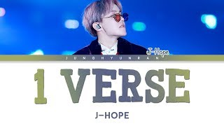 Download BTS J-Hope - 1 VERSE 「Han/Rom/Eng Lyrics」 Video