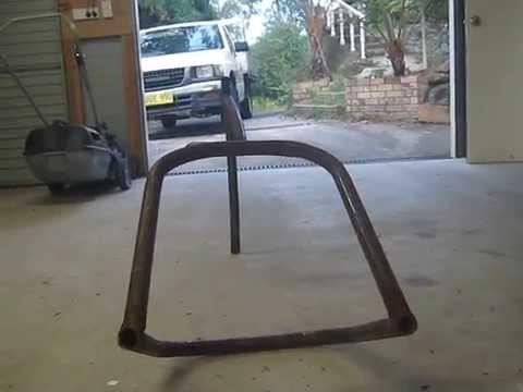 home made motorbike frame