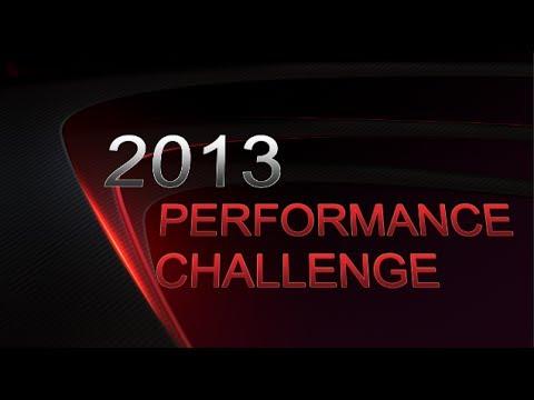 2013 Performance Challenge