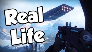 DESTINY 2 REAL LIFE MODE! - 4K 60fps