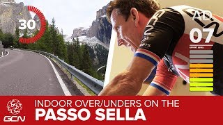 Cadence Training With GCN | Over/Under Interval Workout On The Passo Sella