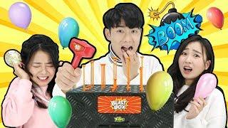 趣味氣球敲盒子桌上遊戲!誰是倒霉蛋呢? 小伶玩具 | Xiaoling Toys
