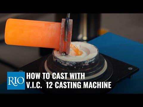 How To Cast with V.I.C.  12 Casting Machine
