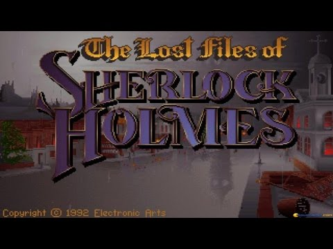 Lost Files of Sherlock Holmes - The Case of Serrated Scalpel gameplay (PC Game, 1992)