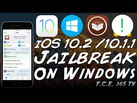 iOS 10.2 / 10.1.1 - How to Jailbreak iPhone 6 / 5S / 6 Plus / SE On Windows