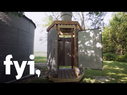 Build Your Own Outdoor Shower | You Can't Turn That Into A House | FYI
