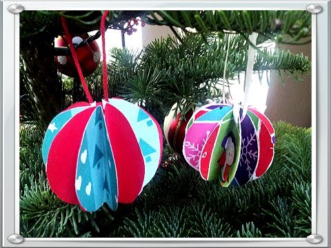 How to make Paper Ball Ornaments Christmas Craft Easy & Quick Tutorial