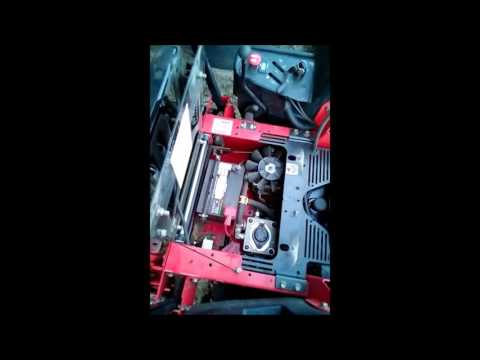 hydro fluid change on Gravely Compact Pro 34