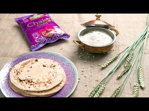 How to Make Healthy Wholewheat Chapati - Recipes by Chakki Gold