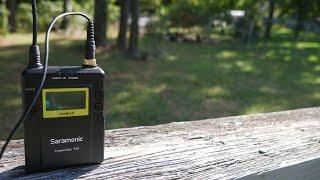 Budget Wireless Mic System Under $300 | Saramonic Wireless Lavalier Mic System Review