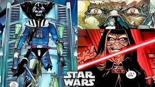How Vader Convinced Sidious to Let Him Repair and Modify His Suit (Canon vs. Legends Series)