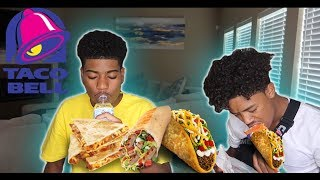 TACO BELL MUKBANG!!! (HAPPY TO BE HOME)