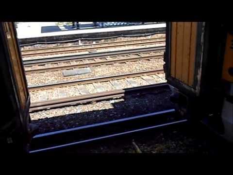 South Eastern Train Coupling at Ashford International Railway Station UK
