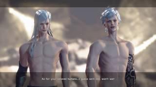 Nier:automata 9s - Adam And Eve Underground Boss Fight