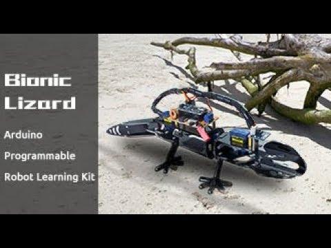 Arduino Robot Kit Bionic Programmable - SunFounder DIY Robot Lizard