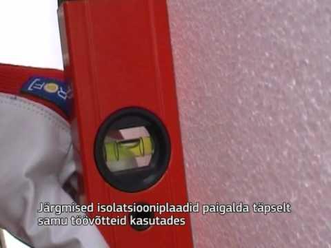 Kuidas soojustada maja isolatsiooniplaatide ja liimvahu abil?