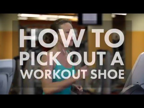 How to Pick the Right Workout Shoe