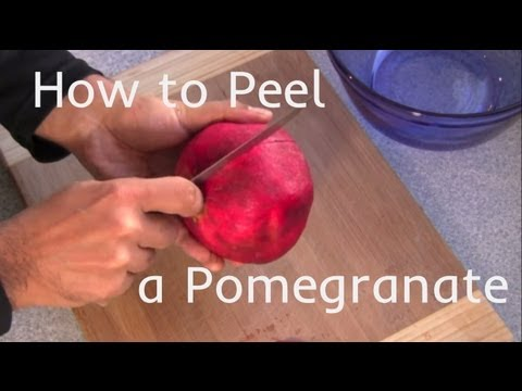 3 Ways to Peel a Pomegranate
