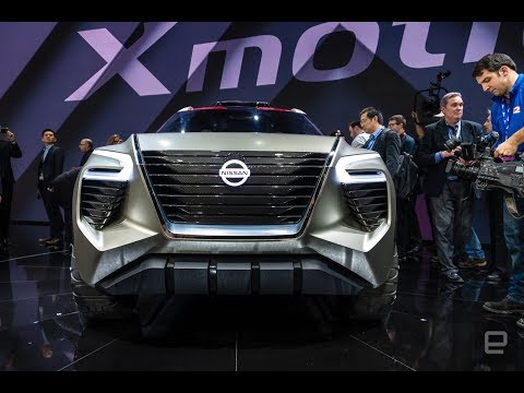 Nissan X motion concept packs suicide doors and boxy style