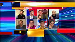 Arnab Goswami Laughs At NDTV On Live Debate Republic TV