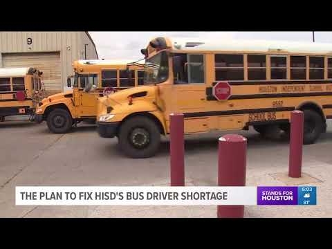 HISD using charter busses due to school bus driver shortage