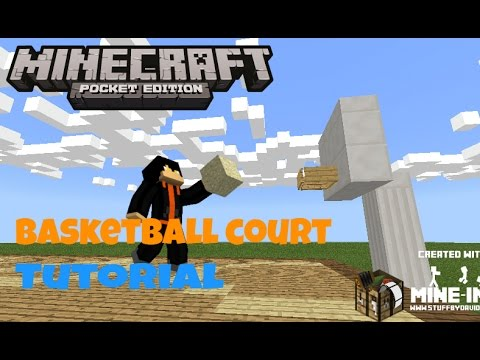 Basketball Court{Tutorial}[MinecraftPE]