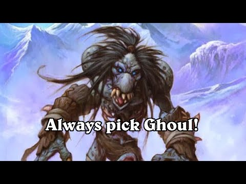 hearthstone arena flesheating ghoul ftw