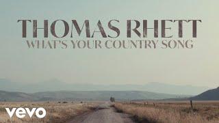 Gambar Thomas Rhett - What's Your Country Song (Audio)