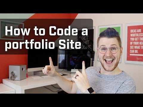 How to Code a Portfolio Site (Week 8 of 12)