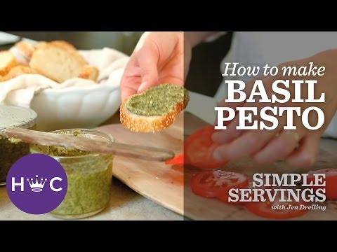 How to Make Basil Pesto | Simple Servings
