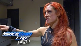 Becky Lynch is not disappointed, she
