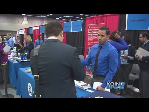 Oregon teachers sought nationally at job fair