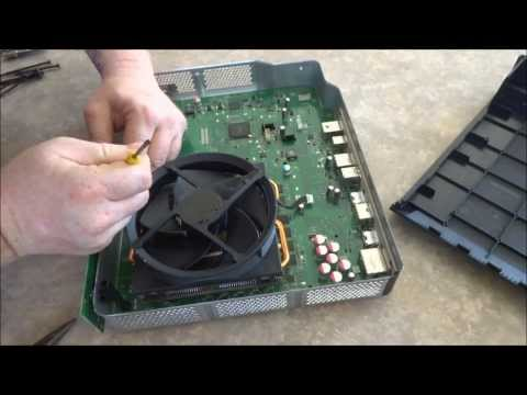 Xbox One Teardown / Disassembly for Cleaning & replacing Thermal paste & repair