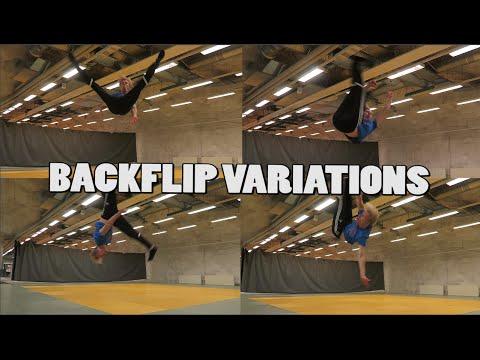 BACKFLIP VARIATIONS CHALLENGE