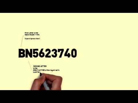 How to decode a DEA number
