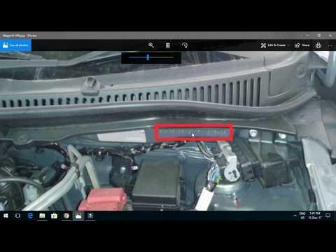 Maruti Cars की Manufacturing Date VIN से कैसे पहचाने. 2018 or 2017 Car