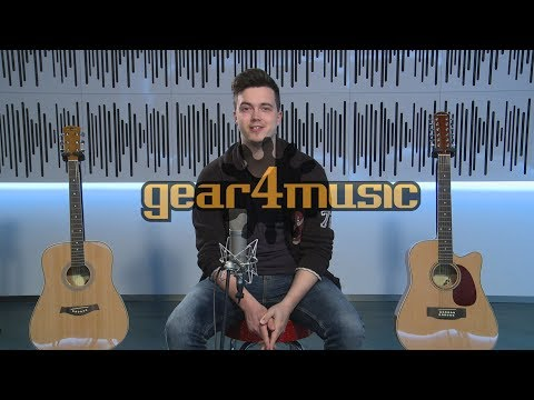 Dreadnought 6 string and 12 string Acoustic Guitar Comparison