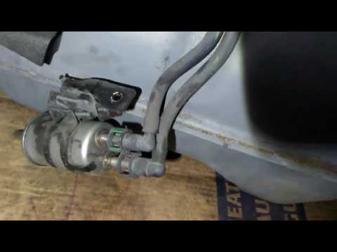 2008 Ford Focus fuel pump tips on removal