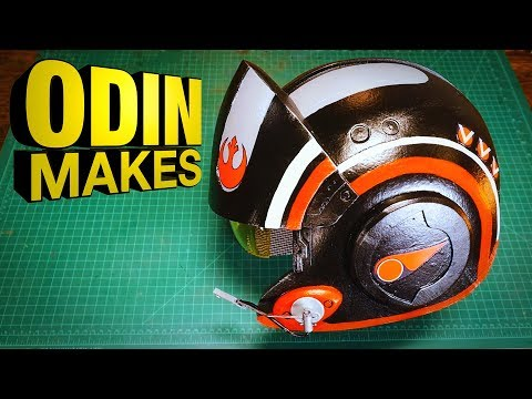 Odin Makes: Poe's Helmet from Star Wars: The Last Jedi