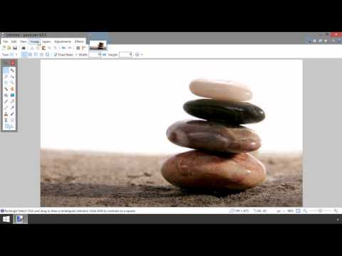Paint.NET: How to Crop an Image into a 16:9 Aspect Ratio