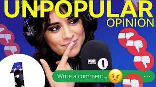 """""""I just felt inappropriate"""": Camila Cabello Unpopular Opinion"""