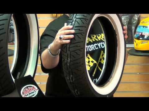 Dunlop Cruisemax Wide White Wall Motorcycle Tire Review...