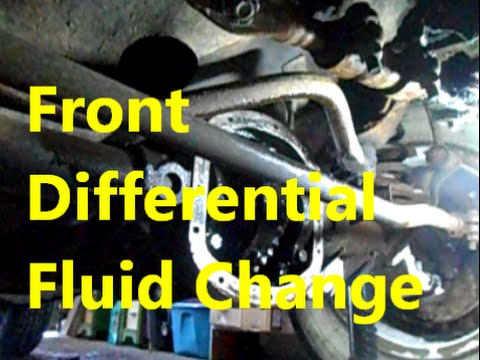 Front Differential Fluid Change on 1996 Jeep Cherokee XJ