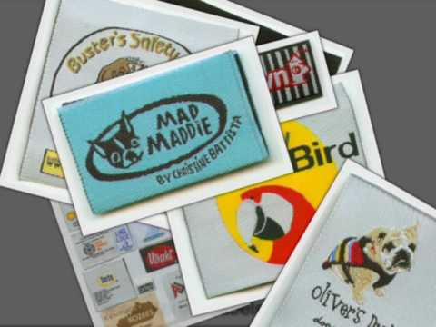 Clothing Labels Designs Woven and Printed Fashion Tags