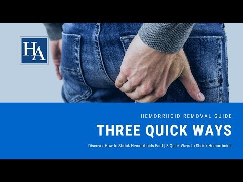 Discover How to Shrink Hemorrhoids Fast   3 Quick Ways to Shrink Hemorrhoids