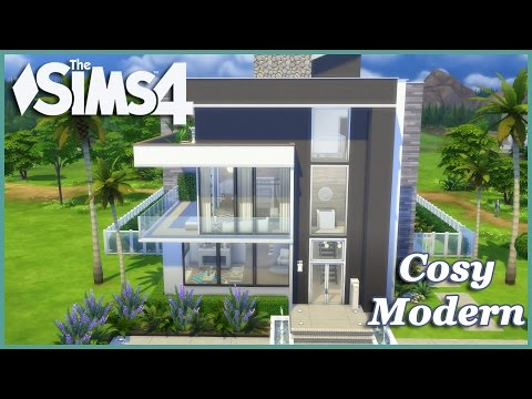 The Sims 4 - Cosy Modern! (House Build)